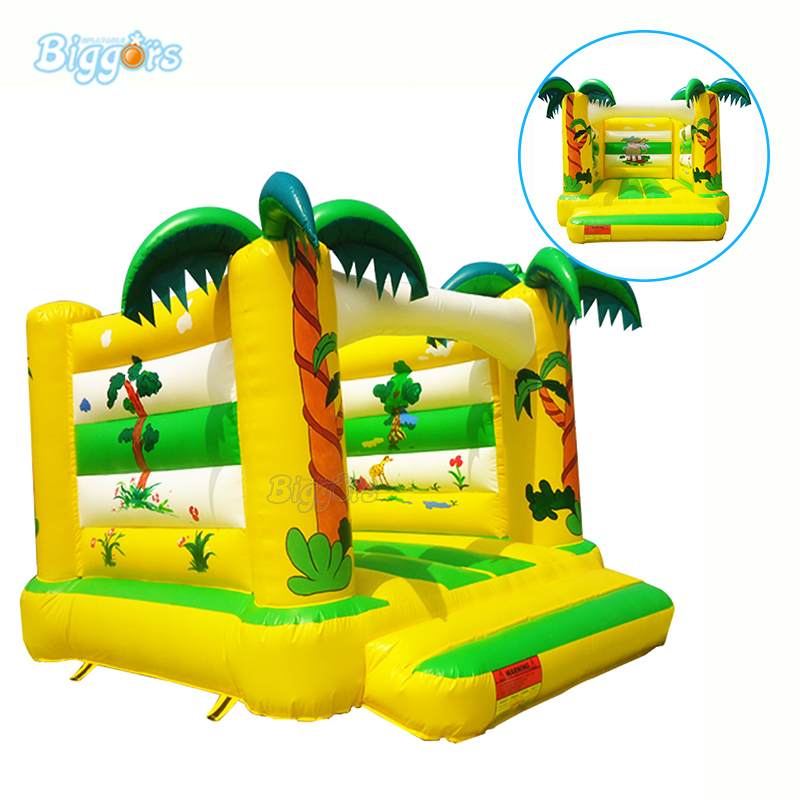 Party Jumpers Tropical Bouncy Castle Inflatable Bounce House For Rental With Blowers tropical luau party picks 50ct