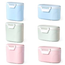 New Baby Milk Powder Box Large Capacity Storage Tank Kids Children Portable Food Container Can цена и фото