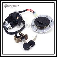 Motorcycle Lockset Ignition Key Switch Fuel Gas Cap Lock Keys For GSX600 GSX750 GSX1200 GSXR600 GSXR750 TL1000R TL1000S