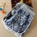 Mulheres verão Cintura Alta Imprimir Praia Casual Mini Shorts feminino frete grátis 500-8