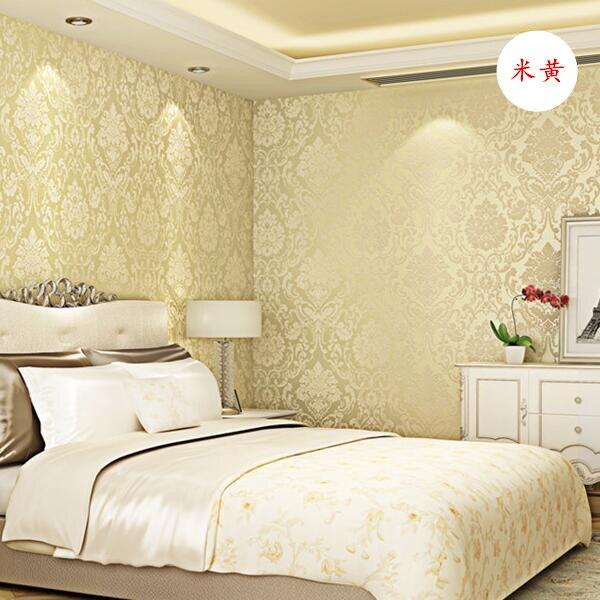 0.53x10 м Papel де Parede роскошный Европа глубоким тиснением Ткань обои Дамаск Papel контакт для Постельные принадлежности комната винил обои