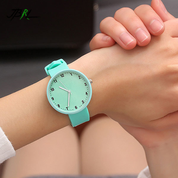 Silicone Watch Children Kids Watches For Girls Boys Students Gifts Quartz Wristwatches Child Wrist Clock