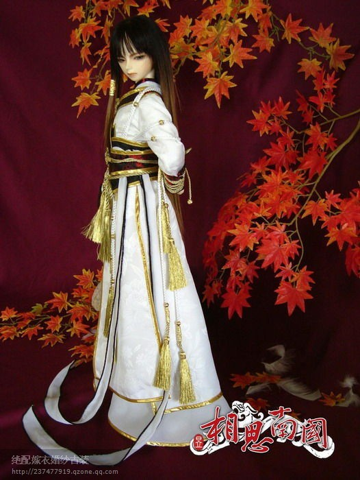 Xiang Si Nan Guo Chinese Jiang Nan SD Doll Costume Photo House Costume for Boys Little Swordman Also Have Adult Size