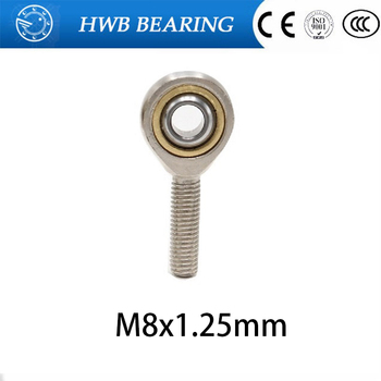 4pcs 4mm Male Right Hand Thread Rod End Joint Bearing Metric Thread M4x0.7mm