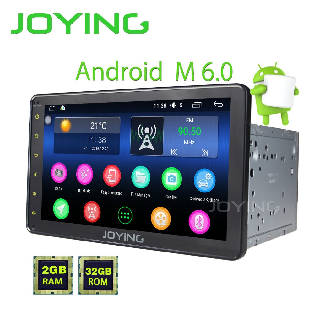 JOYING Latest 2Din Android 6.0 Car Head Unit Stereo HD 8