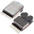 Sell1-8s из светодиодов низкое напряжение зуммер сигнализация липо аккумулятор индикатор тестер