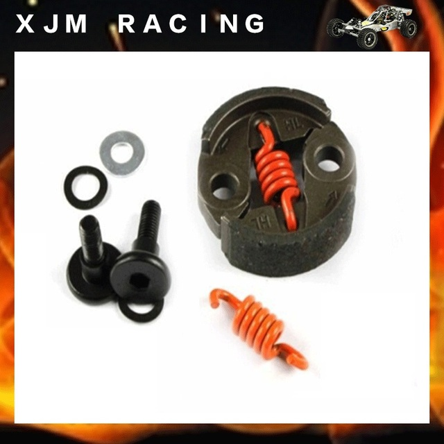 US $6 51 7% OFF| 8000 RPM Clutch Kit fits 1/5 HPI FG FS Rovan KingMotor  Redcat Losi HSP Baja 5B SS SC 5T RC CAR PARTS-in Parts & Accessories from  Toys