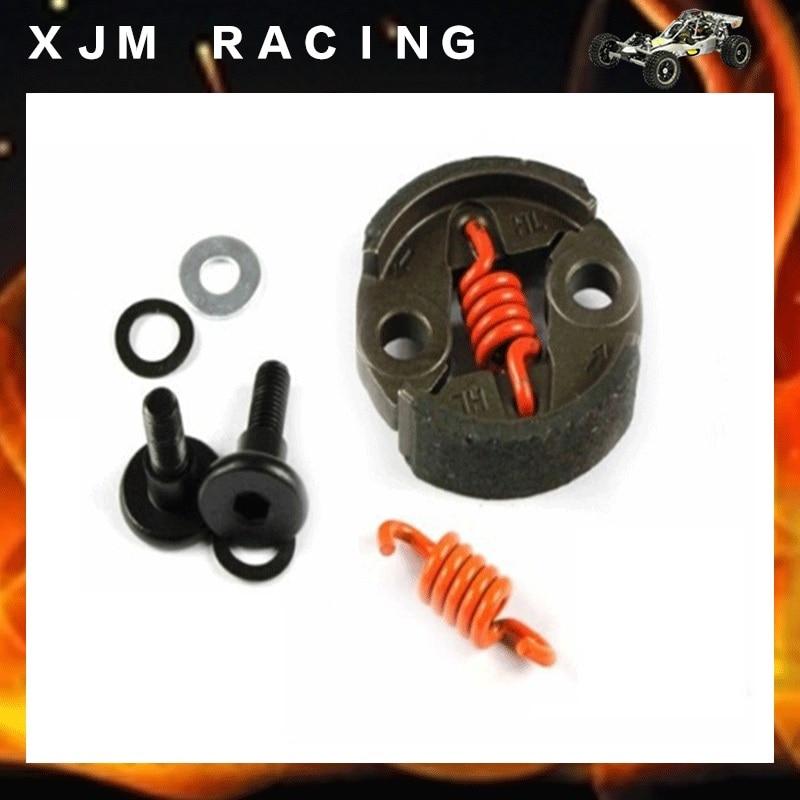8000 RPM Clutch Kit fits 1/5 HPI FG FS Rovan KingMotor Redcat Losi HSP Baja 5B SS SC 5T RC CAR PARTS