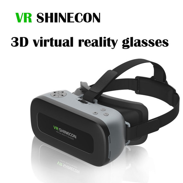 VR SHINECON VR 4.0 3D Virtual Reality Glasses smart glasses VRBOX Bluetooth Gamepad 2G RAM 16G ROM WIFI 1920*1080 HD