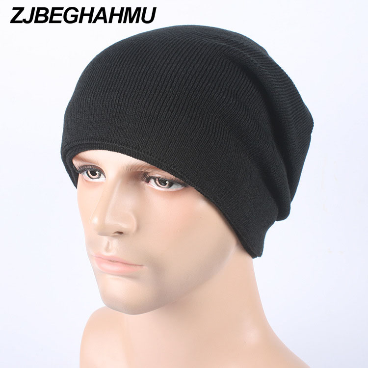 2017 Fashion Bonnet Gorros Caps For Men Women Thick Winter Beanie Men Knitted Hat Warm Skullies & Beanies With Velvet brand beanies knit men s winter hat caps skullies bonnet homme winter hats for men women beanie warm knitted hat gorros mujer