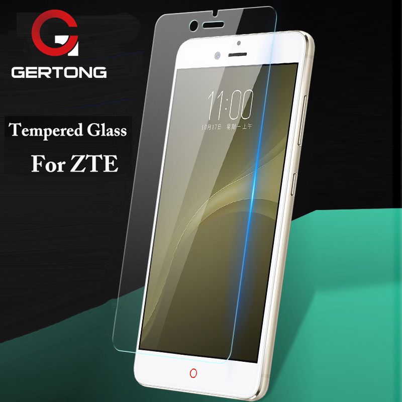GerTong Tempered Glass For ZTE Blade GF3 A452 A510 A512 L3 L5 L6 L110 X3 X5 X7 Z9 Z11 Mini S Screen Protectors Cover Guard Film