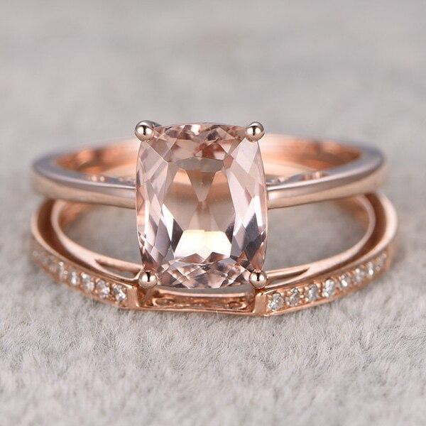 Popular Morganite Engagement Rings Buy Cheap Morganite Engagement Rings lots