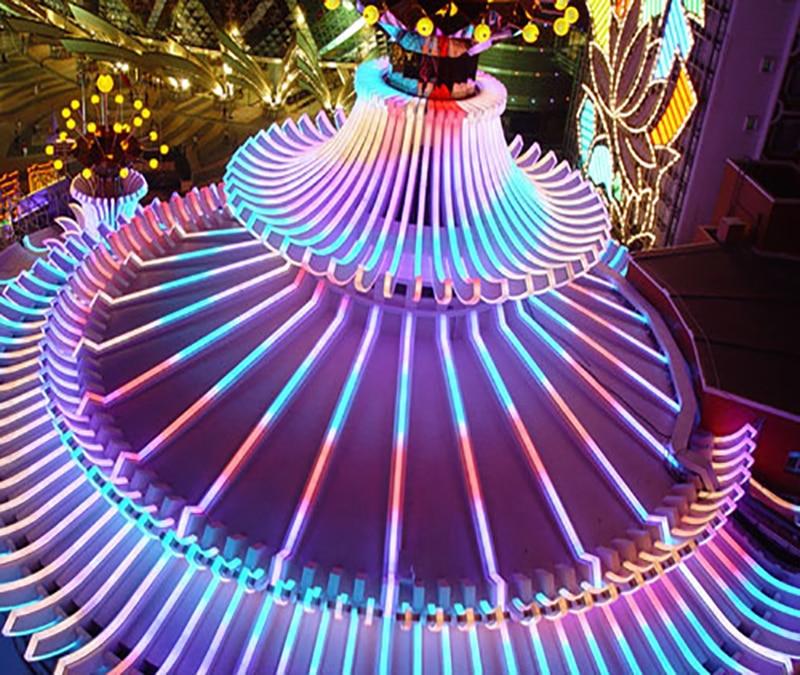 Tiras de Led levou luz de tira neon Consumo de Energia (w/m) : 12w/m