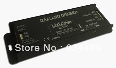 free shipping DALI led driver W/ TOUCH DIM , 1 Channel color controller DC12-24V Constant Voltage Single Output