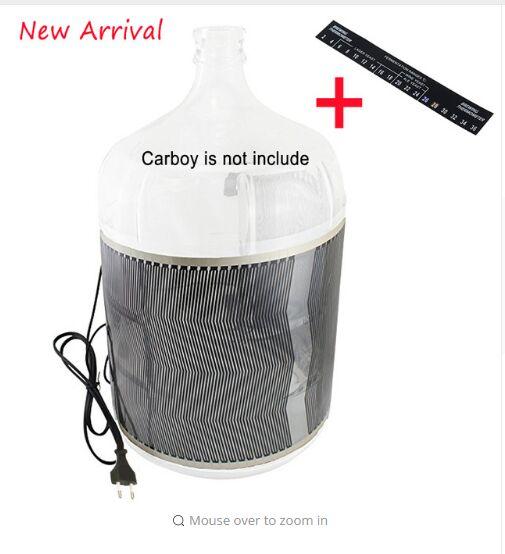 Homebrew Fermentation Heater,220V 35W With EU Plug Carboy Brewing Heater