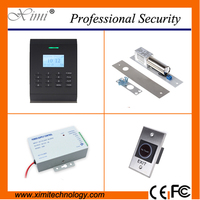 Free Software Linux System TCP/IP 30,000 Card Capacity 125KHZ RFID Smart Card Access Control System