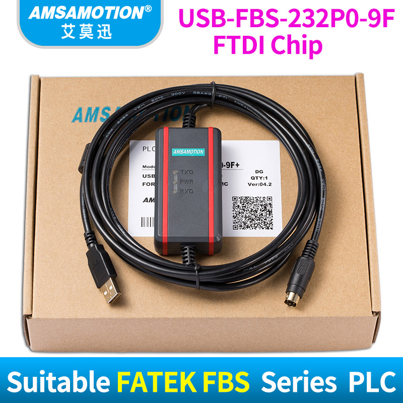 USB-FBS-232P0-9F Download Line Suitable FATEK FBS Series PLC Programming Cable Data new and original fbs cb22 fbs cb25 fatek communication board