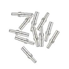 50pcs Arrow Pin Nocks  Aluminum For ID5.5 mm 4.18mm Carbon Shaft DIY Archery Accessories