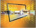 46 Inch Real 2 Points Infrared Touch Screen Panel Kit /IR Touch Screen Frame/ir touch screen overlay kit, driver free