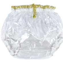 ABDL  Pull-On Locking Plastic Pants Color Glass Clear P016-9