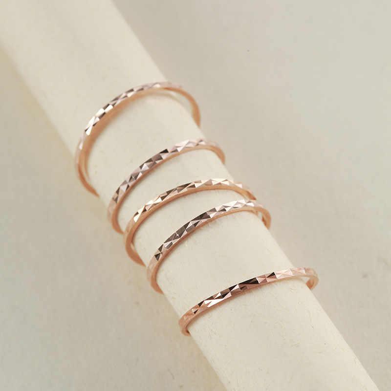 BALMORA 1 ชิ้น 925 เงินสเตอร์ลิงคู่ซ้อนแหวนสำหรับผู้หญิงเลดี้ Elegant แฟชั่นเครื่องประดับ