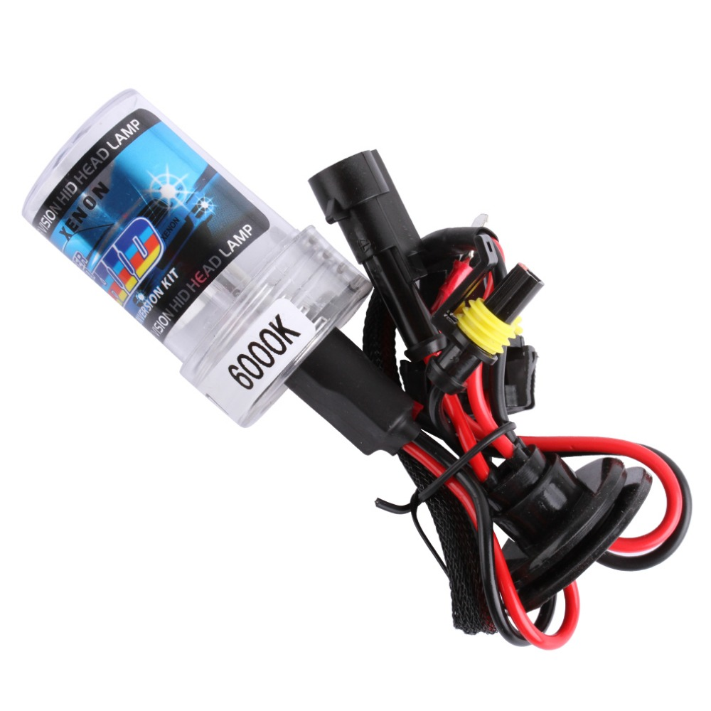 HID Xenon H7 55W 6000K Bulbs Replacement 4300K 5000K 8000K 12V Car Driving Headlight Bulb Fog Lights Auto HeadLamp Bulb 2pcs xenon hid bulb 9006 55w car headlight lamp 4300k 5000k 6000k 8000k 10000k 12000k 12v car light lens auto fog light bulb