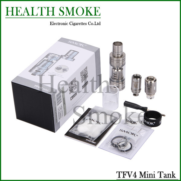 2015 NEW Original Smok TFV4 mini Atomizer 3.5ml Sub ohm Tank Atomizer with Smok Smok Xcube II 160w full best kit