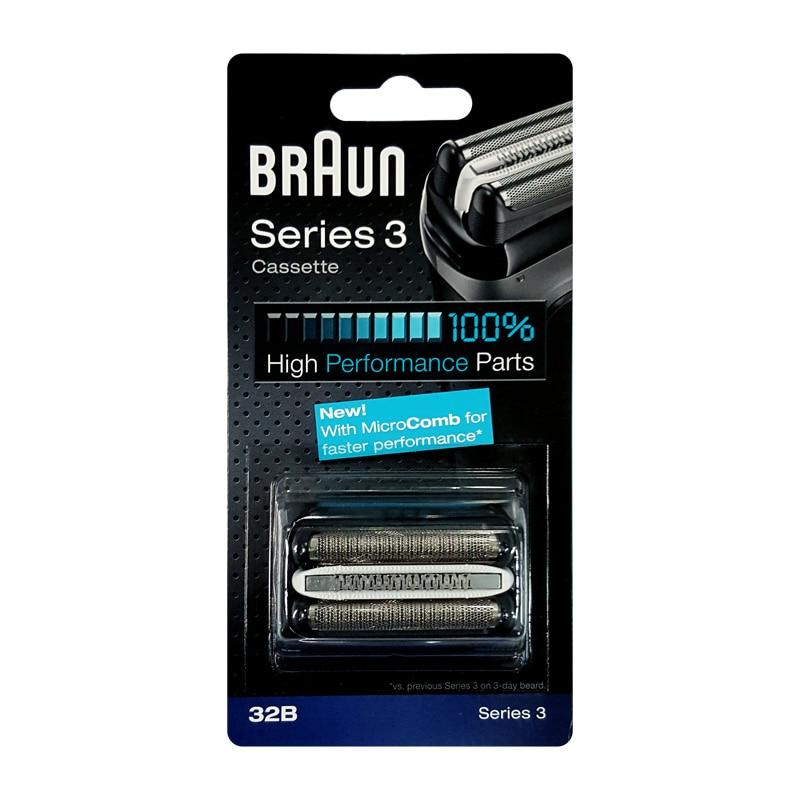32B shaver Head Braun Braun series <font><b>3</b></font> Foil Cutter for Series <font><b>3</b></font> Shavers(320 330 340 350CC 360 370 380 390CC 5774 5775 5776)