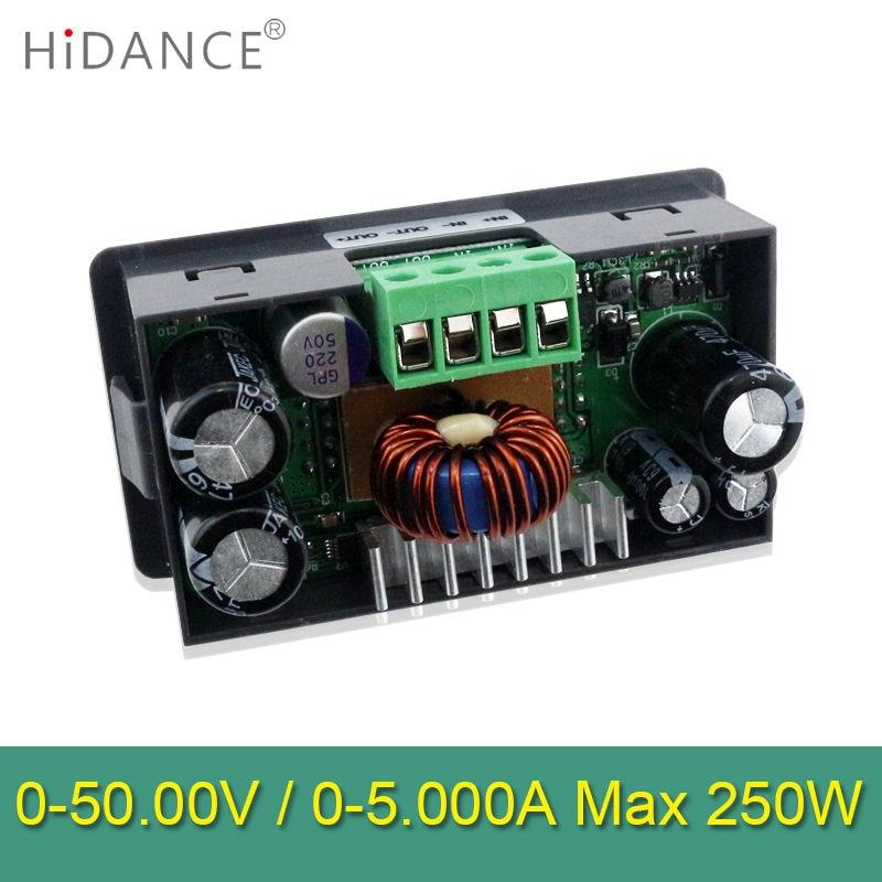 50 V 5A 250W LCD muundur Reguleeritava pinge arvesti regulaator - Mõõtevahendid - Foto 3