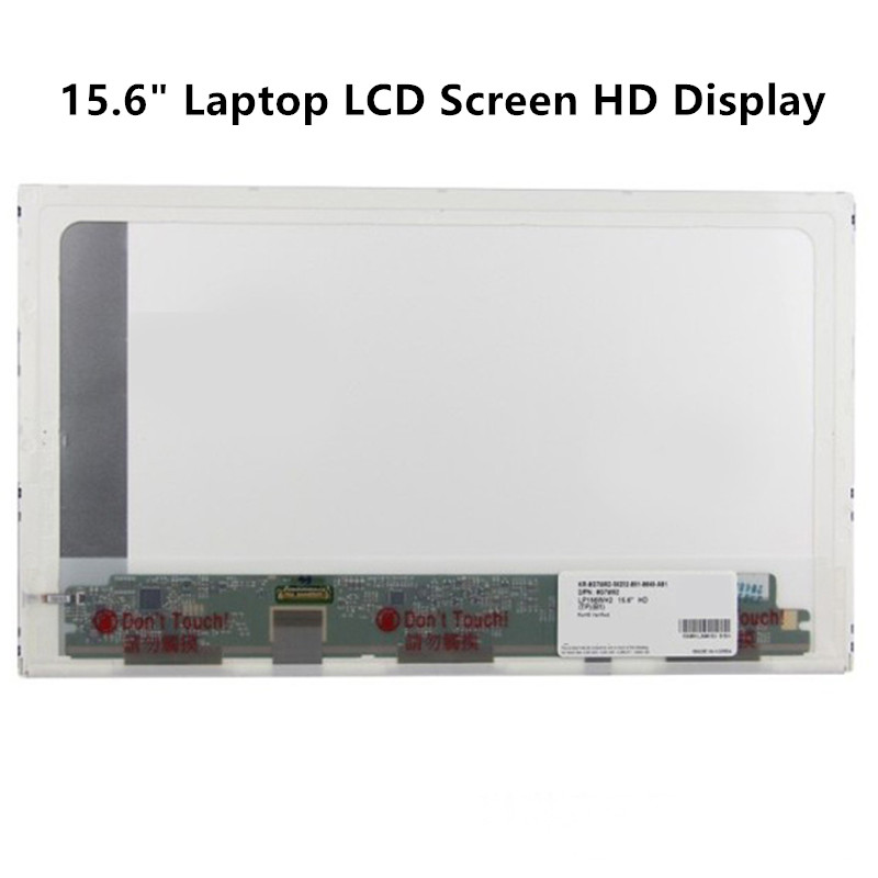 FTDLCD 15.6 Repair Laptop LCD Screen HD Display Computer For Dell Latitude E6510 E5520 E6520 30 PIN