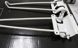 Image 3 - 4 أجزاء/وحدة H: 178 مللي متر طاولة قابلة للطي الساقين دبابيس الشعر الساق المعدنية كمبيوتر محمول القهوة للطي