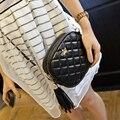 New Style 2015 Simple  Women Crossbody Bag Fashion Chain Shoulder Bag Tassel Women Messenger Bag Crown tassel bags Mini handbags