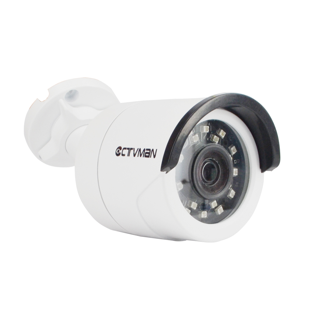 CTVMAN Camara IP 1080p Outdoor POE Security IP Camera Power over Ethernet IR Night Vision CCTV Surveillance Onvif P2P Cams cctv 4 port 10 100m poe net switch hub power over ethernet poe
