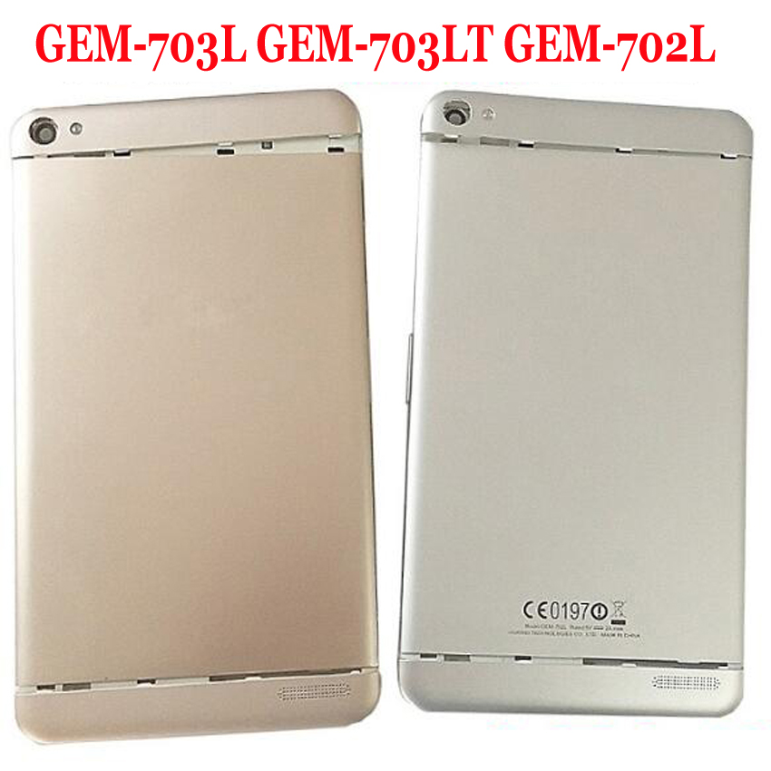 Best Quality Back <font><b>Battery</b></font> Cover Housing Door For Huawei Honor <font><b>X2</b></font> <font><b>MediaPad</b></font> <font><b>X2</b></font> <font><b>GEM</b></font>-703L <font><b>GEM</b></font>-703LT <font><b>GEM</b></font>-<font><b>702L</b></font> Rear Case Replacement image