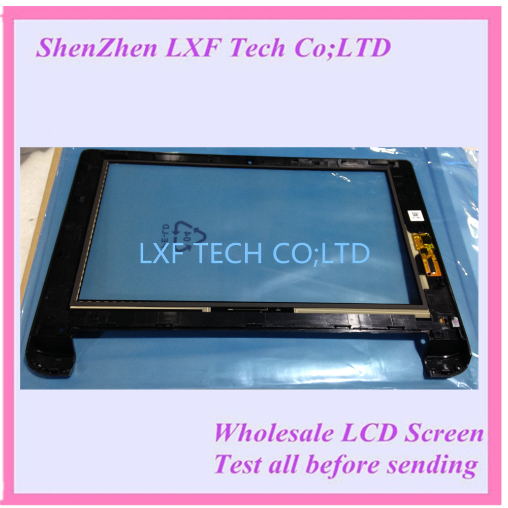 FREE SHIPPING 10Tablet touch screen for Lenovo Flex 10 Touch screen Flex10 Touch panel with frame bezel