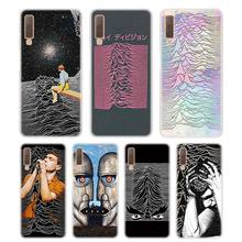 Silicone Phone Case unknown pleasures Printing for Samsung Galaxy A8S A9 A8 Star A7 A6 A5 A3 Plus 2018 2017 2016 Cover