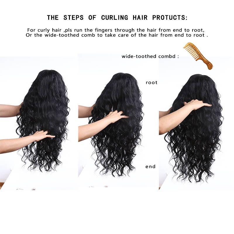 Πλευρικά τμήματα Περούκες Ανθεκτική - Συνθετικά μαλλιά - Φωτογραφία 6