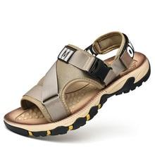 YeddaMavis Casual Men Shoes 2019 New Summer Sandals Beach Slippers Flip Flops Sandalias Male Flats