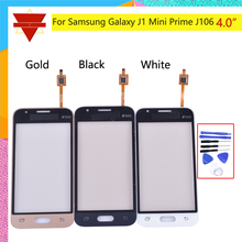 4.0″For Samsung Galaxy J1 Mini Prime J106 Touch Screen Digitizer Front Glass Lens Panel with flex cable not LCD display