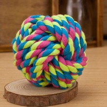 Colorful rope ball / toy