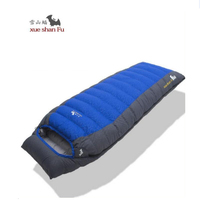 Winter sleeping bag outdoor camping hiking accessories fill 2200G 2500G 3000G 3500G thick down sleeping bags for cold weather