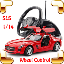New Year Gift 1/14 Mercedes SLS AMG RC Wheel Remote Control Car  Model Car Drift Machine Collective Edition Car Outdoor Present