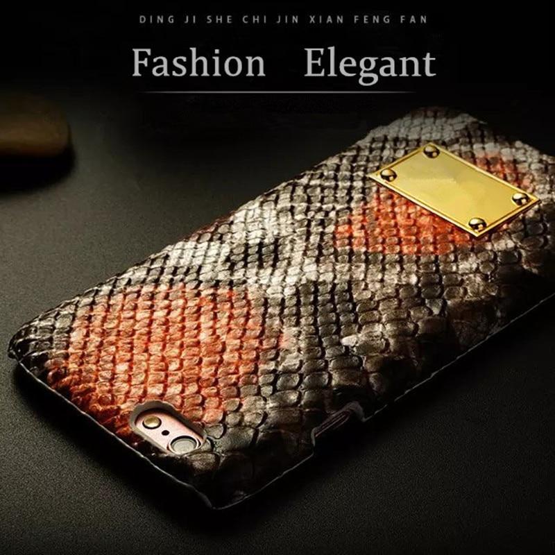 Элитный бренд змеиной кожи кожаный чехол для телефона iPhone 6 6S Plus 3D крокодил оболочки противоударный тонкий задняя крышка для iPhone6 s