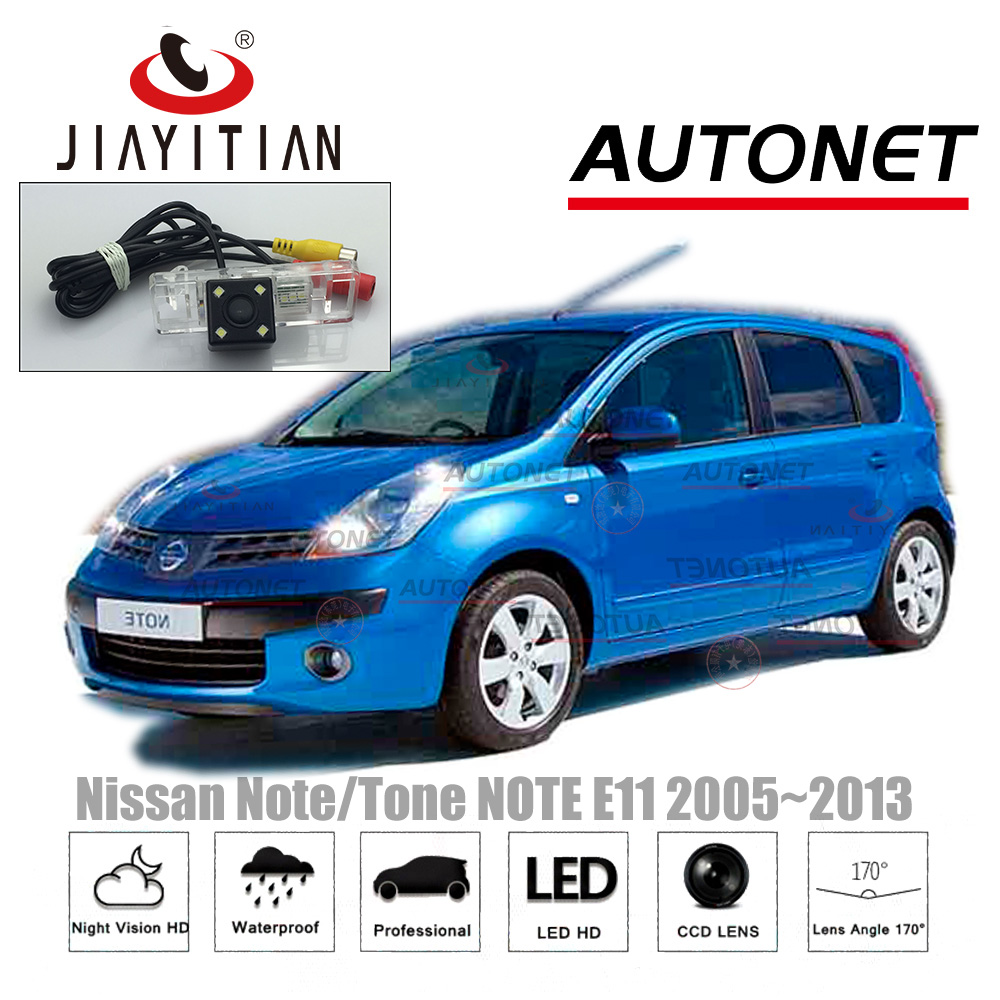 JIAYITIAN Rear View Camera For Nissan Note/Tone NOTE E11 2005~2013 Night Vision/CCD Reverse Camera license plate Camera backup jiayitian rear view camera for opel zafira a 1999 2005 ccd night vision reverse camera backup camera license plate camera