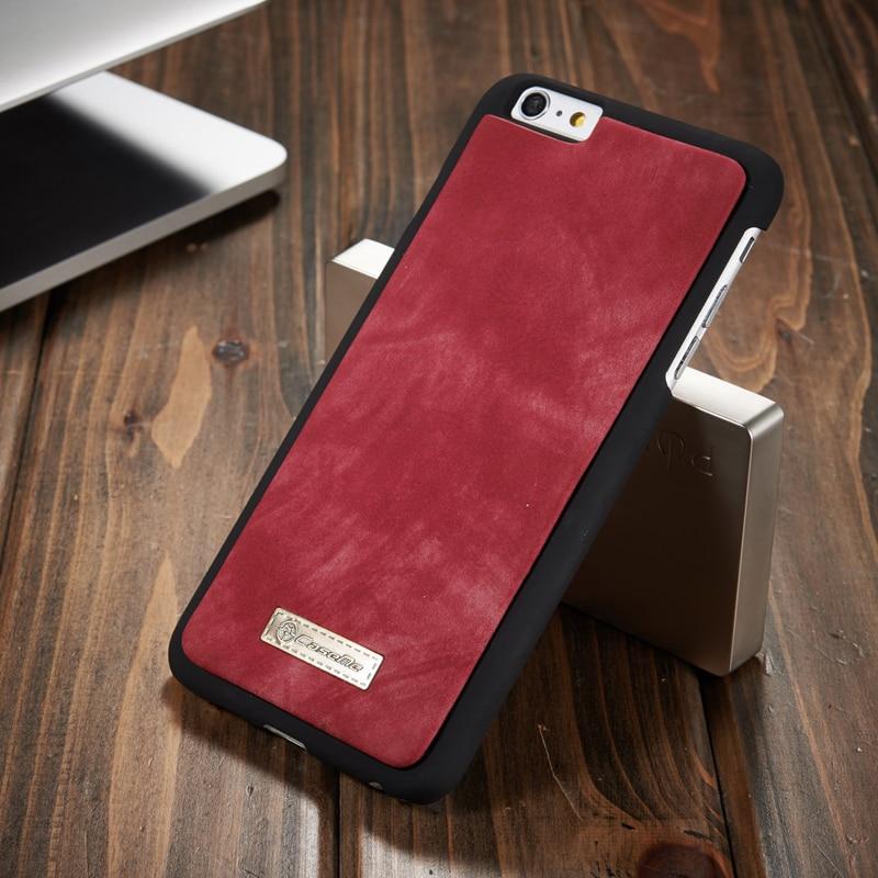 Retro lyxigt äkta läderfodral för iphone 6 6S 7 Plus väska - Reservdelar och tillbehör för mobiltelefoner - Foto 5