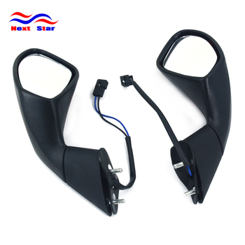 Motocross Parts Motorbike Rear View Mirrors Motorcycle Side Mirror Moto Rearview For Aprilia RSV Mille R 1000 2004 2005-2009