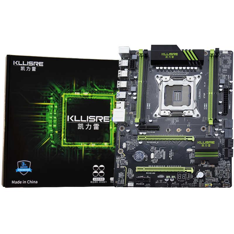 Kllisre X79 motherboard LGA2011 ATX USB3.0 SATA3 PCI-E NVME M.2 SSD support REG ECC memory and Xeon E5 processor