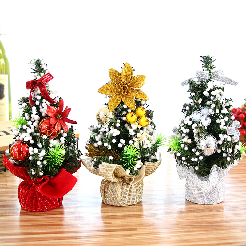 Misaya 1Pc Christmas Tree Bouquet 3 Colors Christmas Small