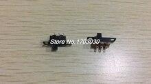 100 Pcs 3Pin PCB Mount 2 Position SPDT Horizontal Micro Mini Slide Switch