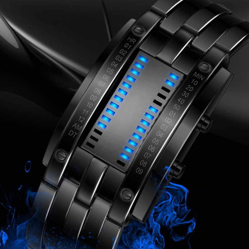 SKMEI 2016 Popular Brand Men Fashion Creative Watches Digital LED Display Water Shock Resistant Lovers Wrist Watches Clock Men
